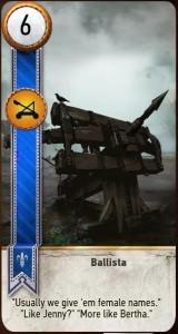 Ballista Card