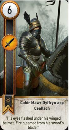 Cahir Mawr Dyffryn aep Ceallach card