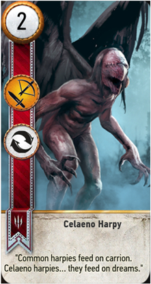 Celaeno Harpy card