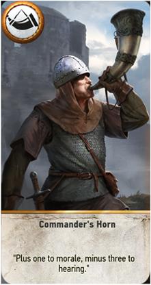 Commander's Horn card