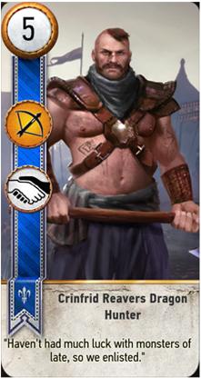 Crinfrid Reavers Dragon Hunter card