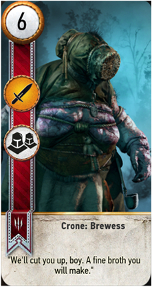 Crone: Brewess card