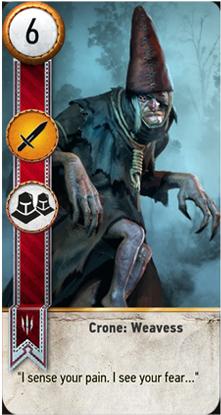 Crone: Weavess card