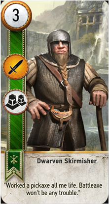 Dwarven Skirmisher card