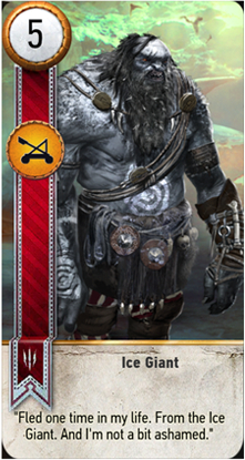 Ice Giant card