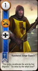 Kaedweni Siege Expert Card
