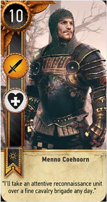 Menno Coehoorn card