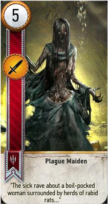 Plague Maiden card