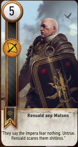 Renuald Aep Matsen card