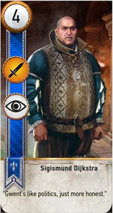 Sigismund Dijkstra card
