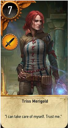 Triss Merigold card