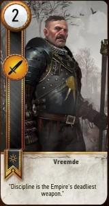 Vreemde card