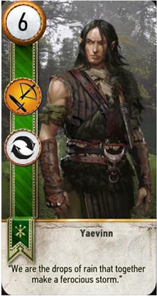 Yaevinn card
