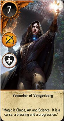 Yennefer of Vengerberg card
