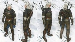 Enhanced Griffin Gear Witcher 3 Armor