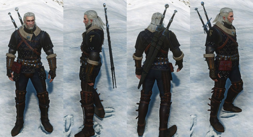 Witcher  Viper Silver Sword Master Crafted