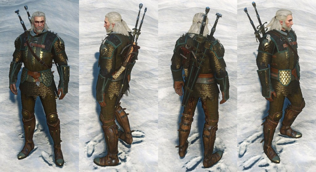 Witcher  Crafting Superb Silver Sword