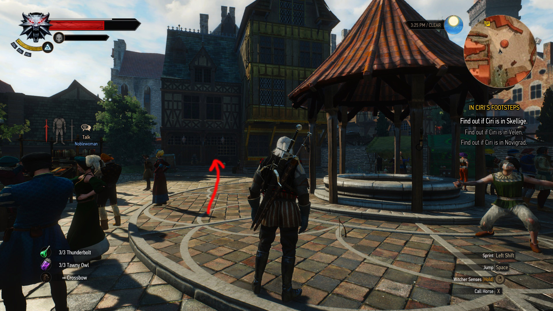 Witcher 3 how to make shops respawn money