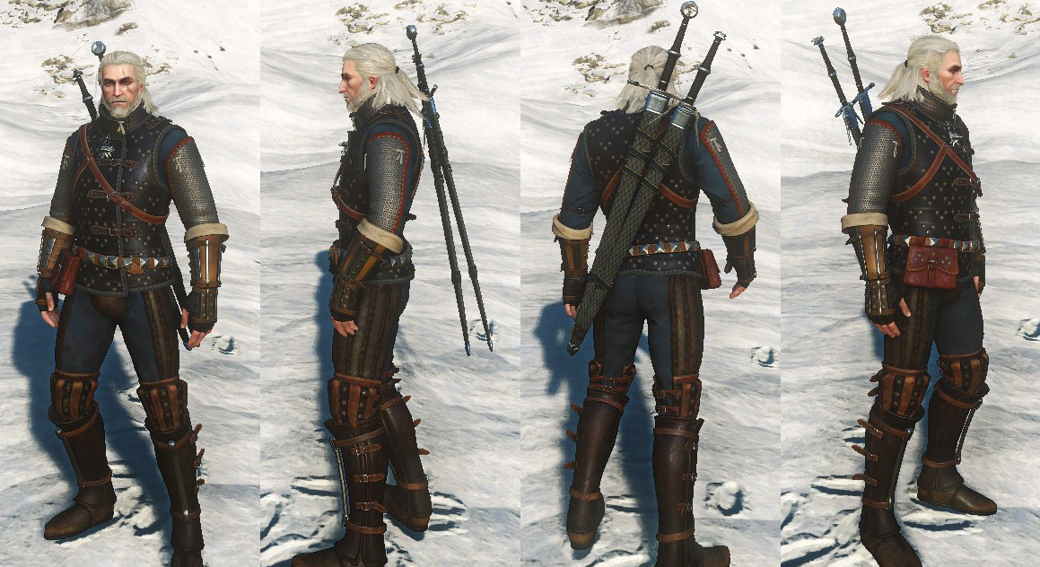 Witcher  Cat Boots