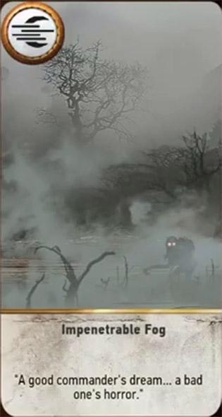 impenetrable fog card