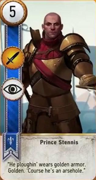 prince stennis card