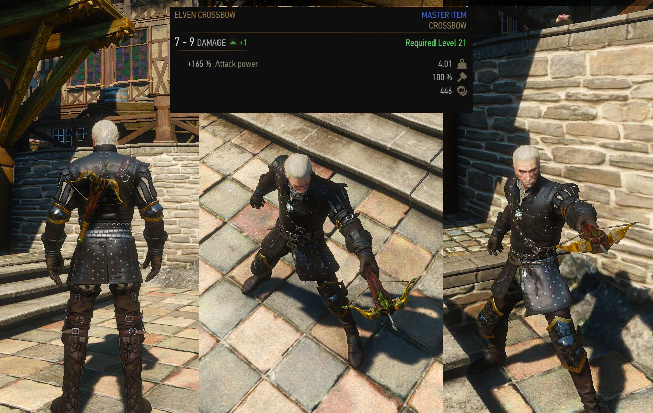 Elite Crossbow Set DLC | The Witcher 3