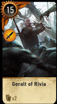 Give geralt the card some love visual upgrade gwent - Ciri gwent card witcher 3 ...