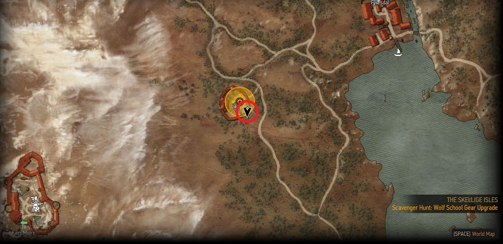 Help...Missing superior Wolven Armor. : witcher - photo#35