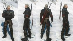 Witcher 3 Wolf School Gear Look