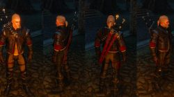 Witcher 3 Wolven School Gear Look