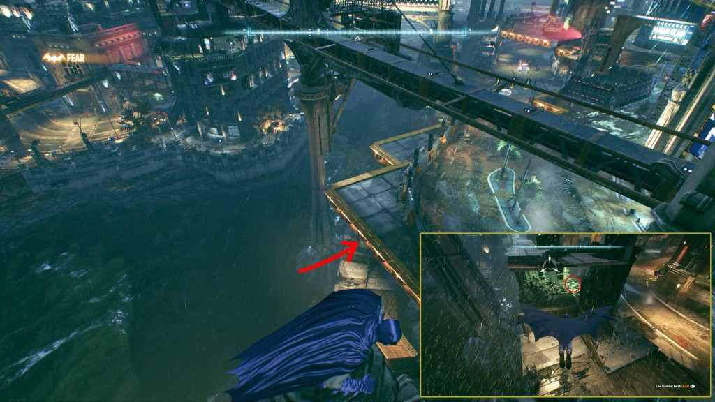 batman arkham knight how to open founders island