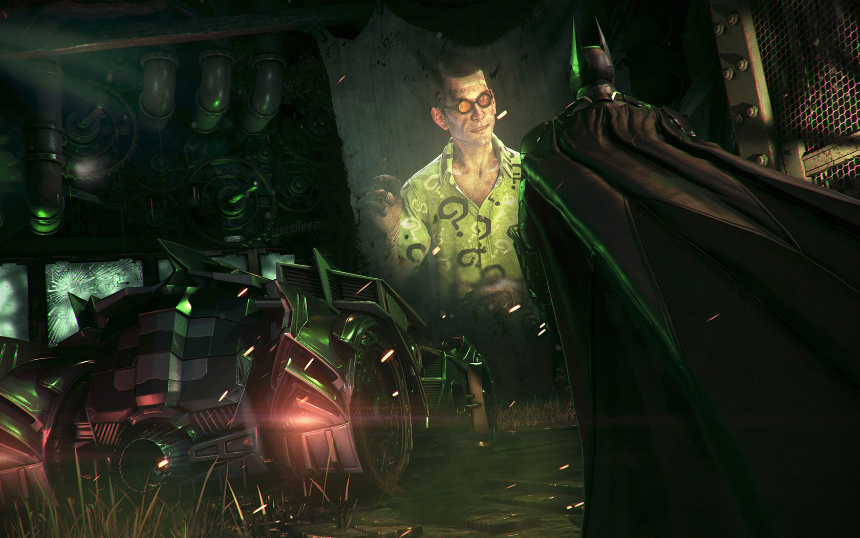 Batman Arkham Knight Riddler