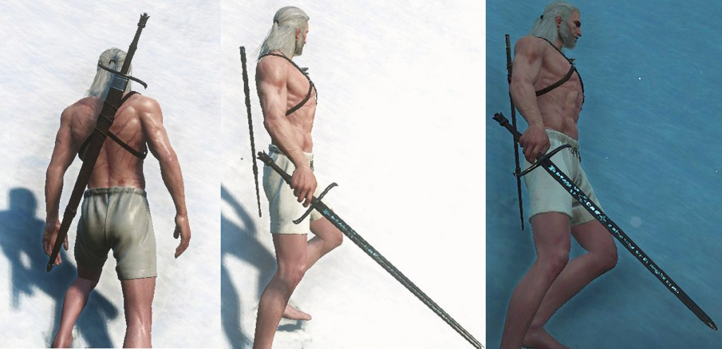 Witcher  Crafting Silver Sword