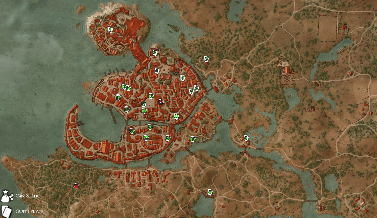 Gwent card locations the witcher 3 - Gwent Card Locations The Witcher 3 1