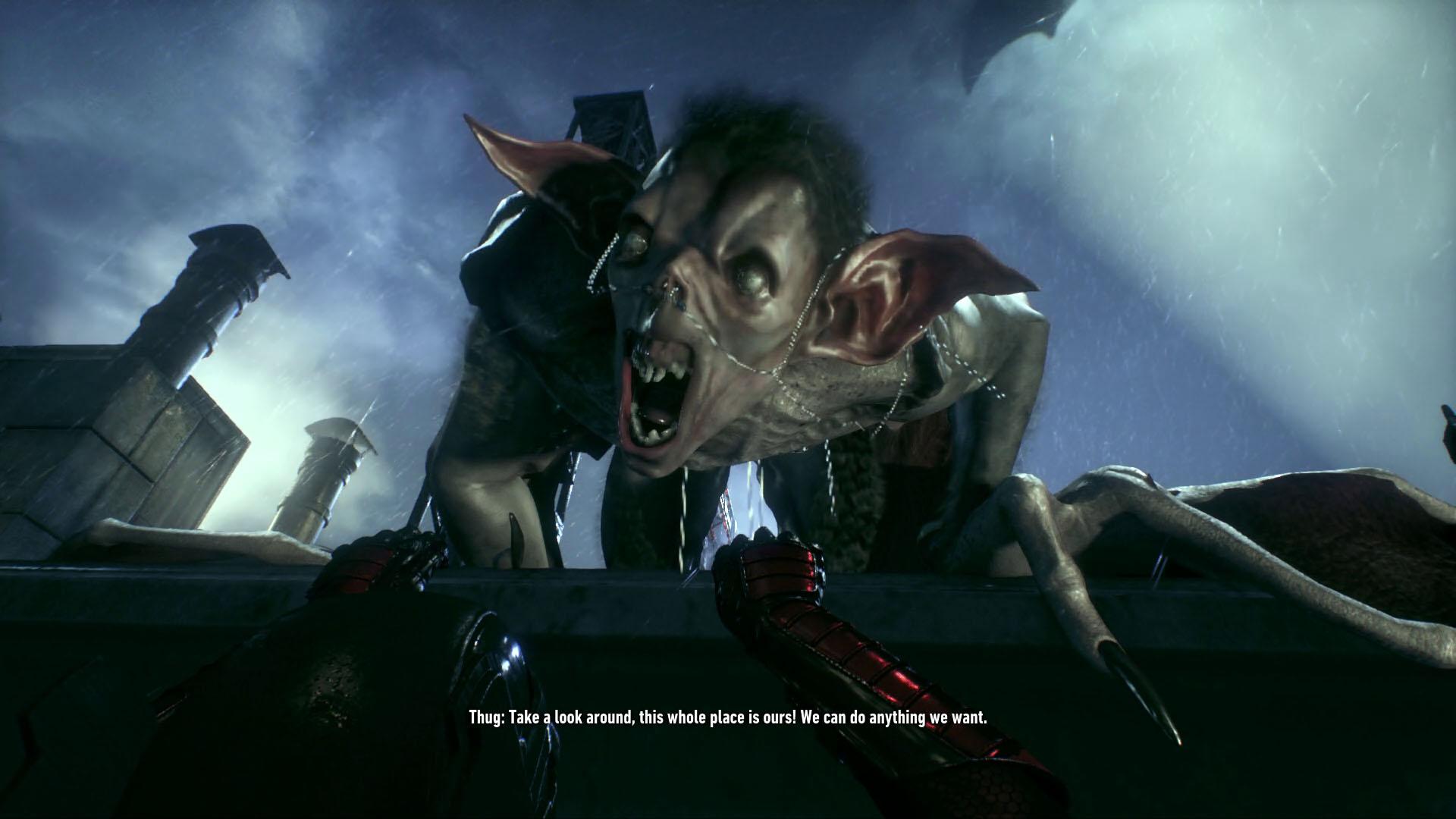 Creature of the night batman arkham knight voltagebd Choice Image