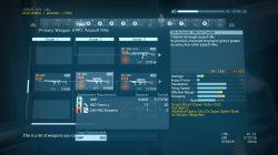 mgsv weapons un arc