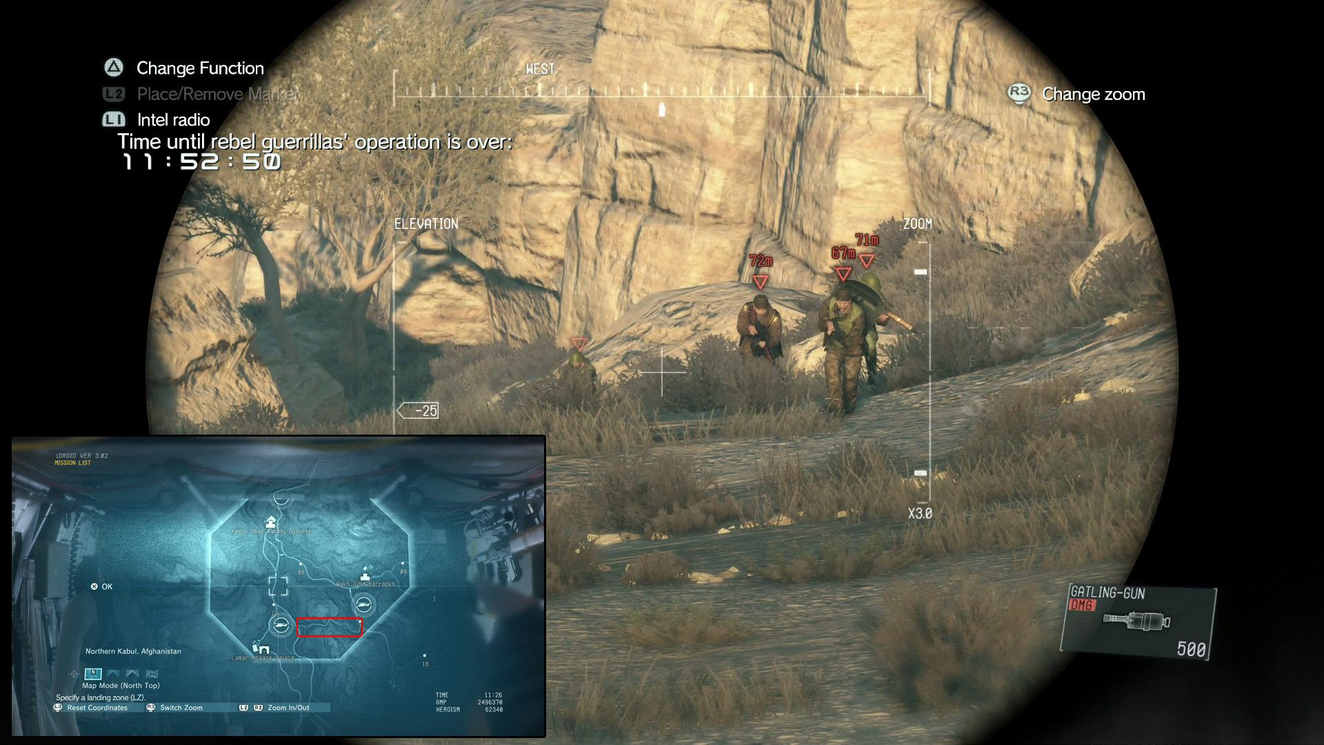 Mission 9 : Backup, Back down S Rank Guide - MGS5 TPP ...