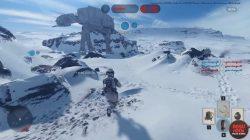 battlefront hoth battle AT-AT