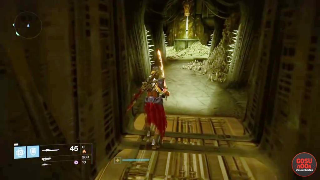 destiny taken king king's fall secret room guide