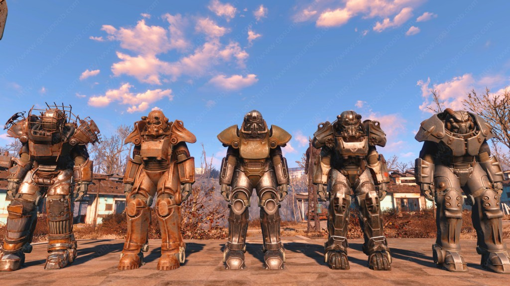 Fallout 4 Power Armors