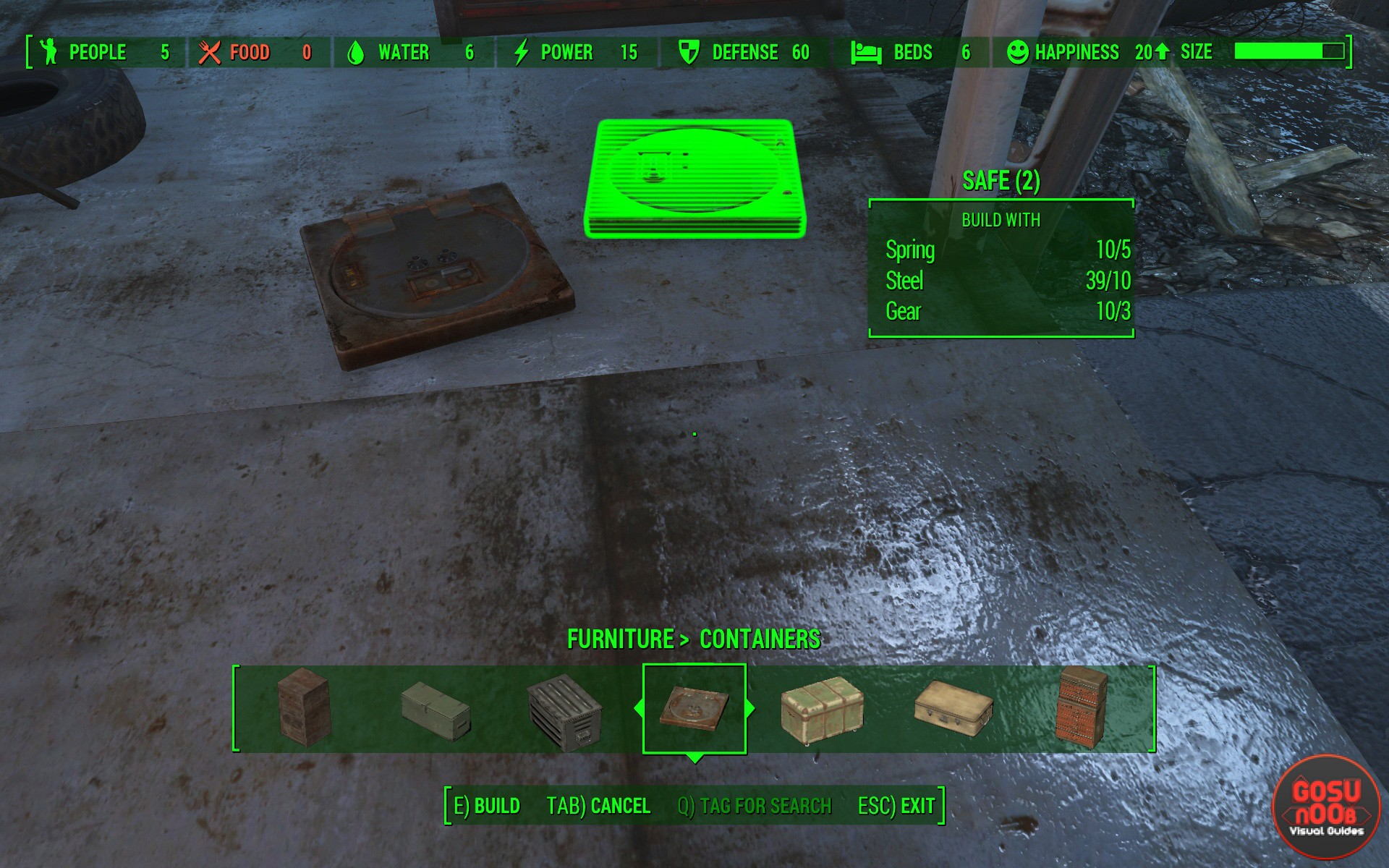fallout 4 how to create a store