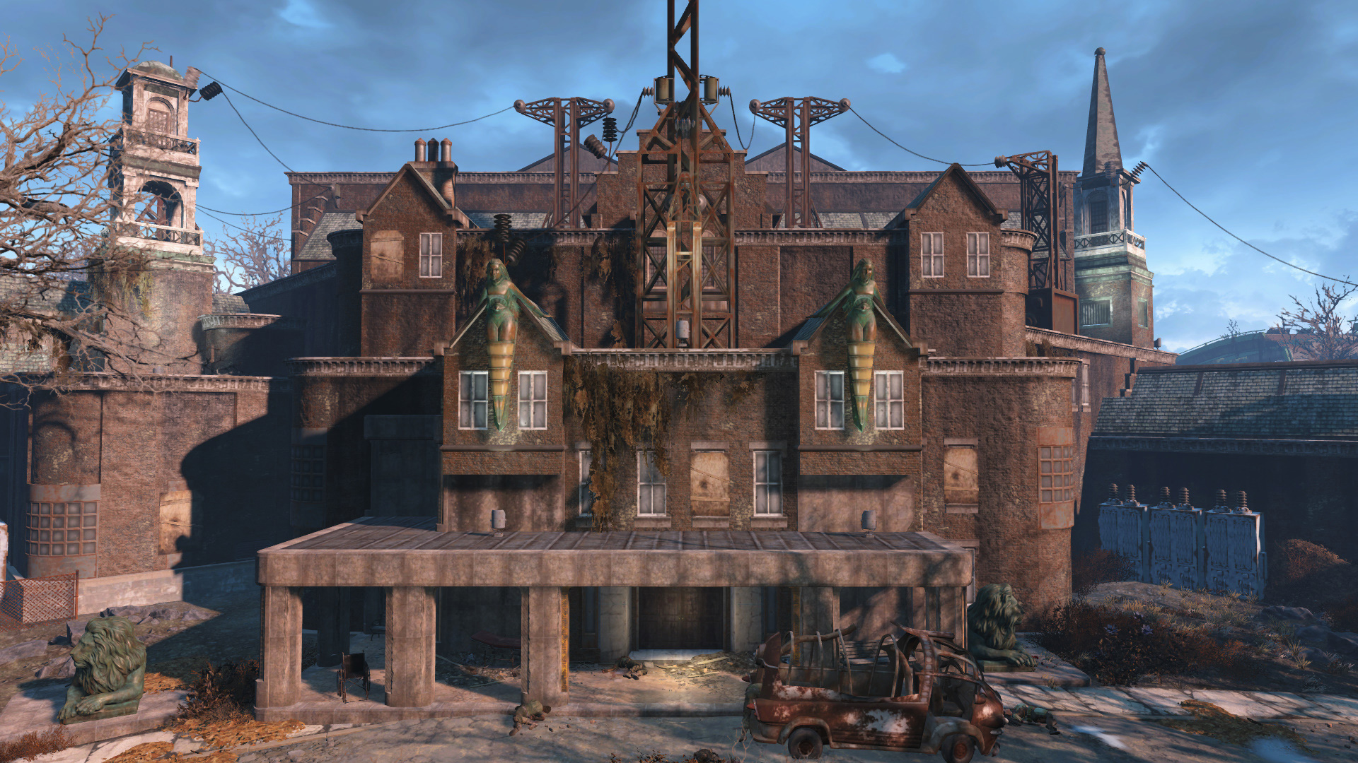 How to get inside parsons state insane asylum in fallout 4 for Fallout 4 bedroom ideas