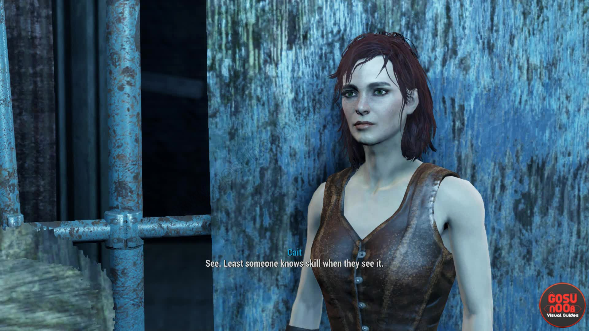 fallout 4 cait relationship with god
