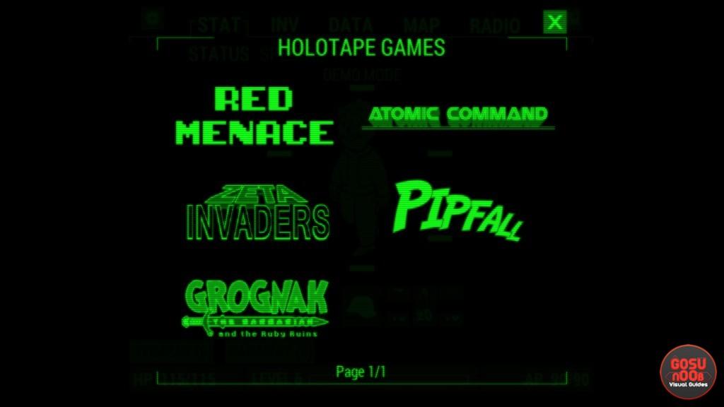 fallout 4 holotape games