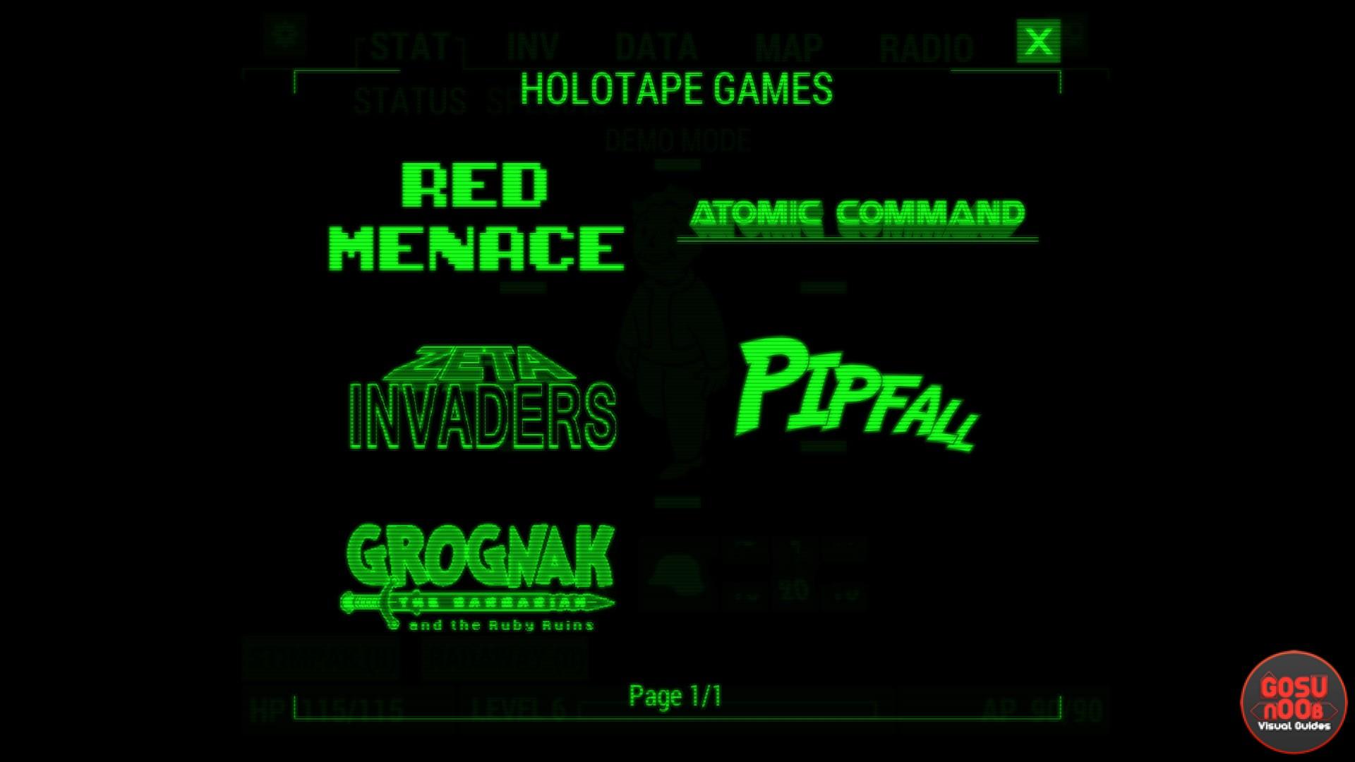 Holotape games fallout 4