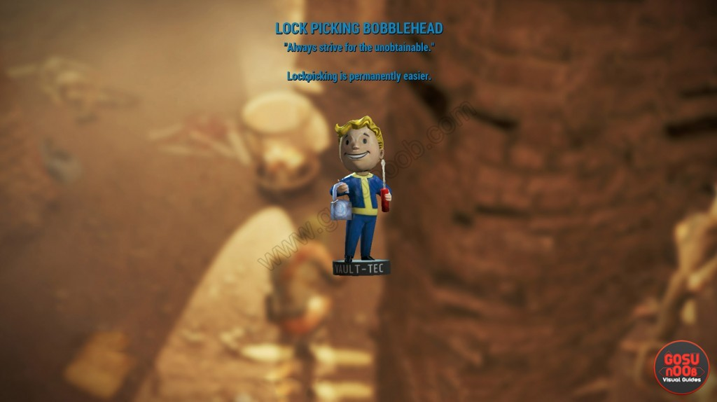 Lock Picking Bobblehead Fallout 4