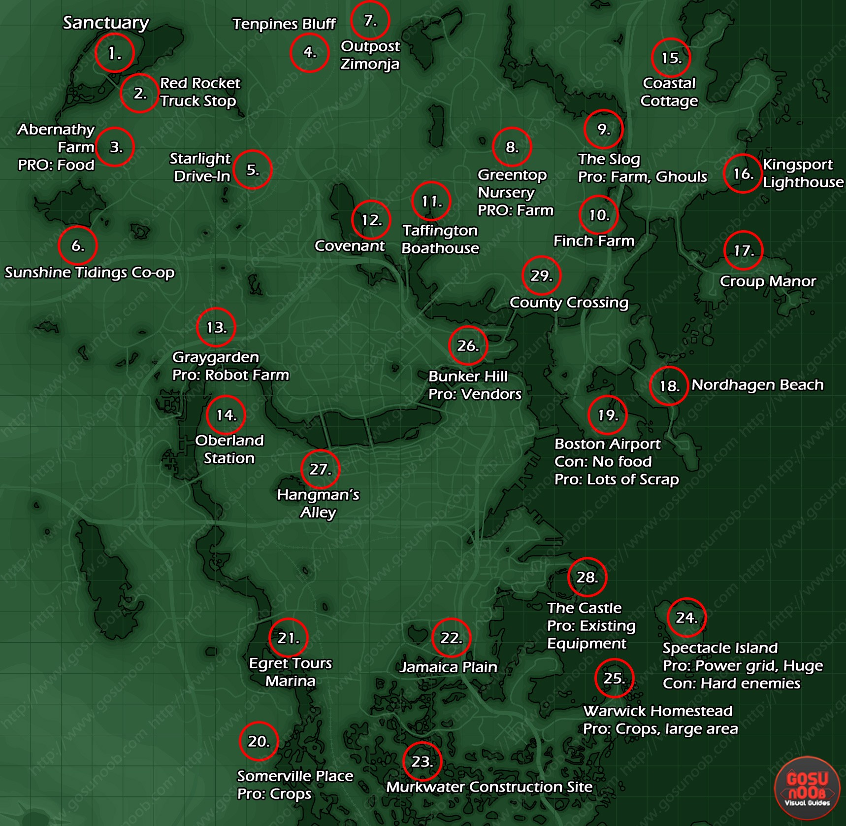 The explorable area in Fallout 4 is 3.82 square miles, or 9.90 ...