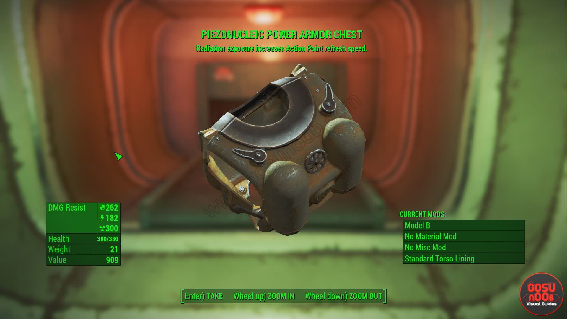Piezonucleic Power Armor Location Fallout 4 Gosu Noob