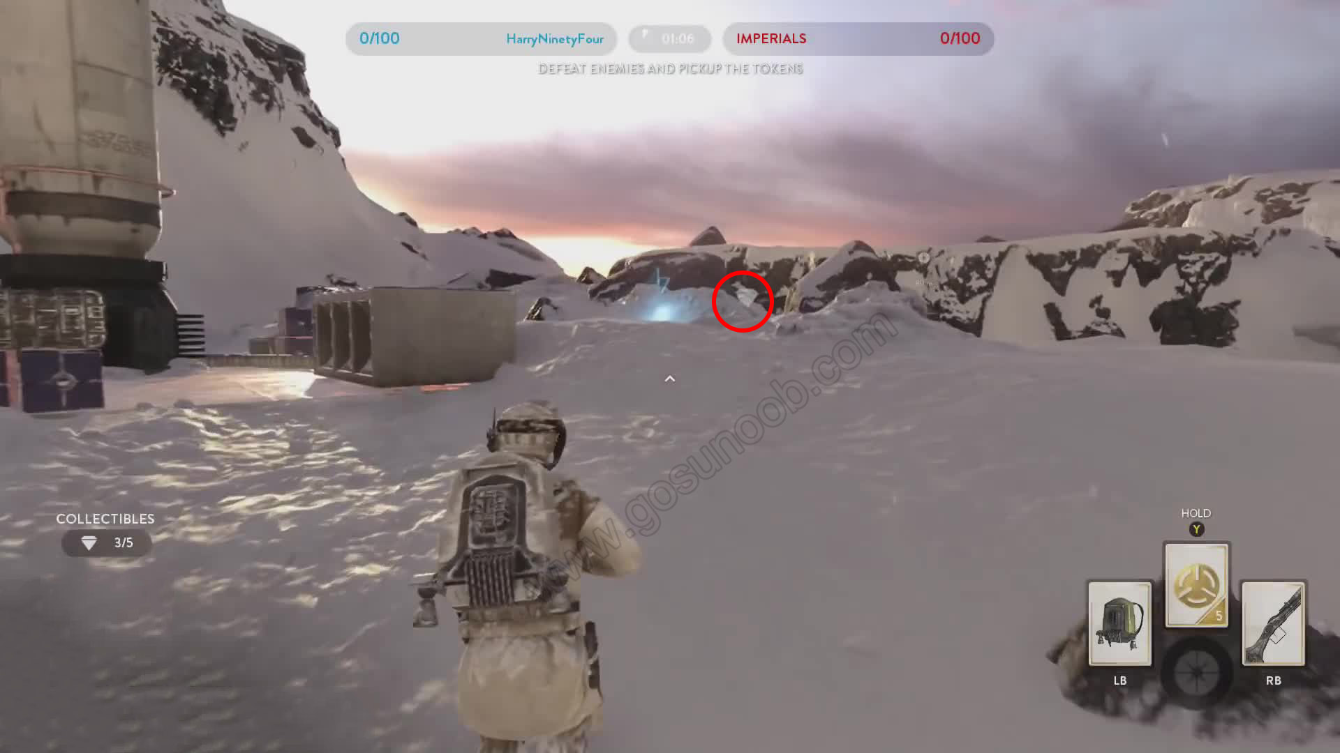 hoth collectible locations star wars battlefront. Black Bedroom Furniture Sets. Home Design Ideas