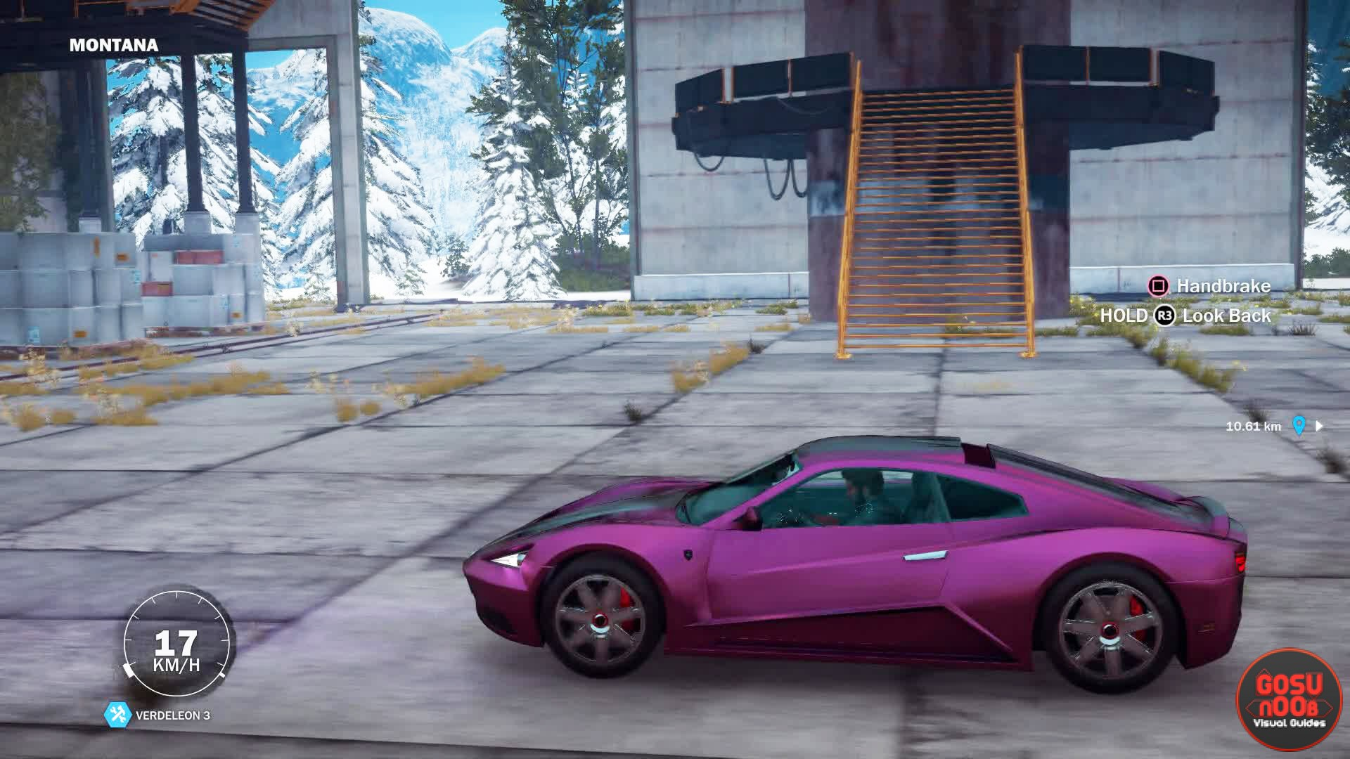 just cause 3 how to call in vehicles